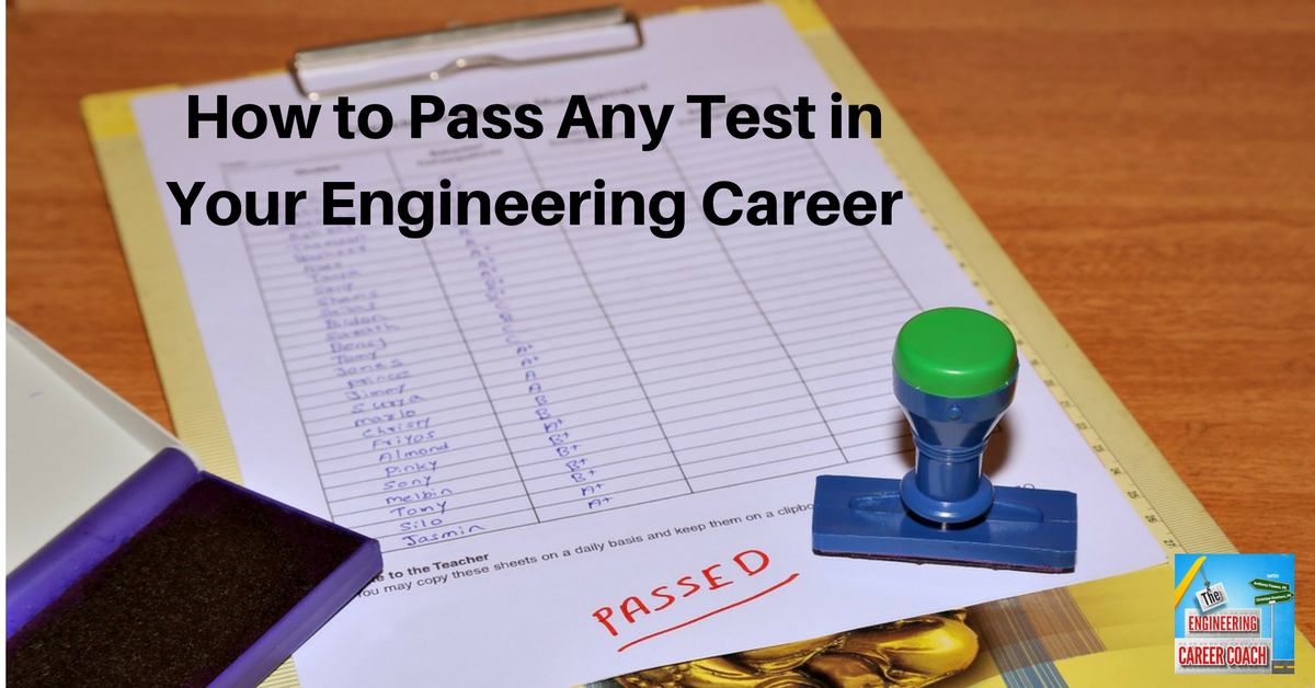TB_ How to Pass Any Test in Your Engineering Career