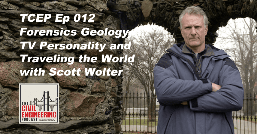 Tcep 012 Forensics Geology Tv Personality And Traveling