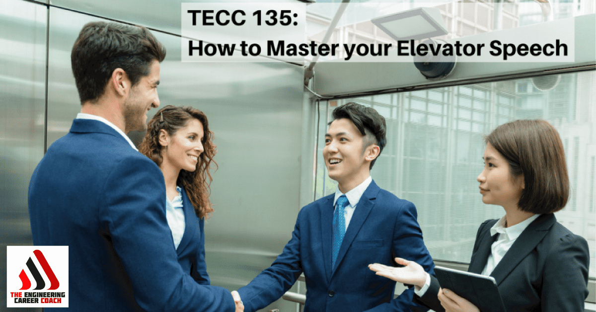 master your elevator speech