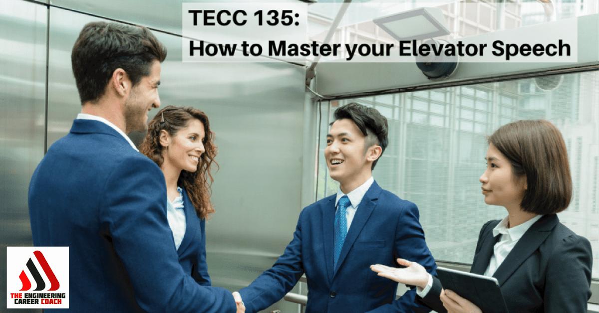 master your elevator speech