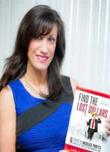June Jewell with book cropped
