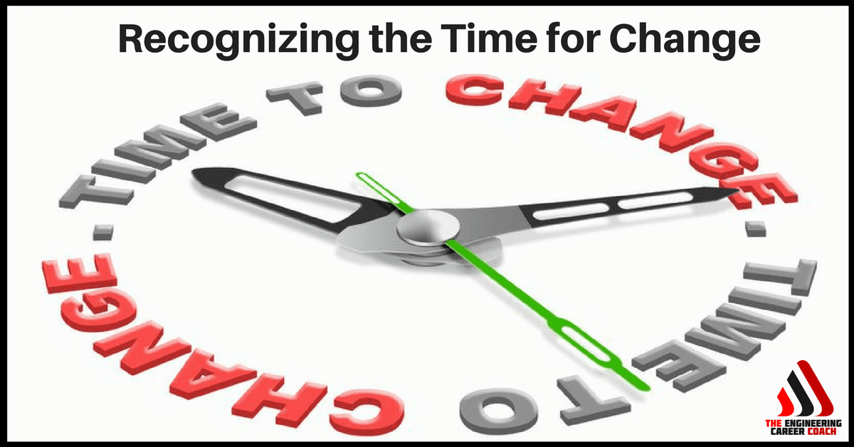 Recognizing the Time for Change