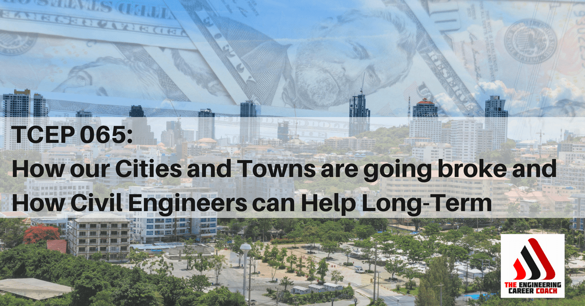 Cities and Towns are going broke