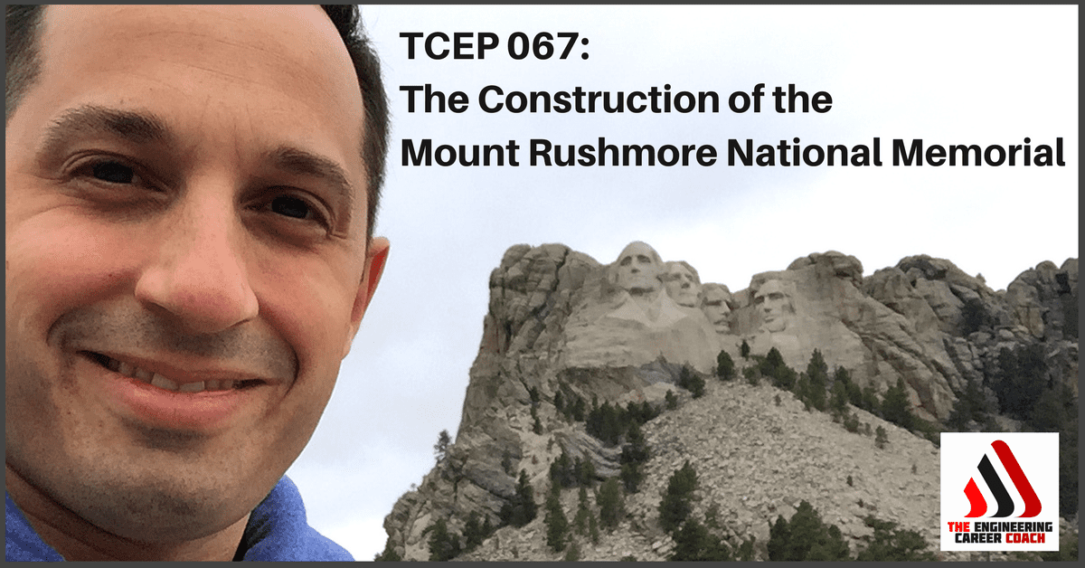 Construction of the Mount Rushmore