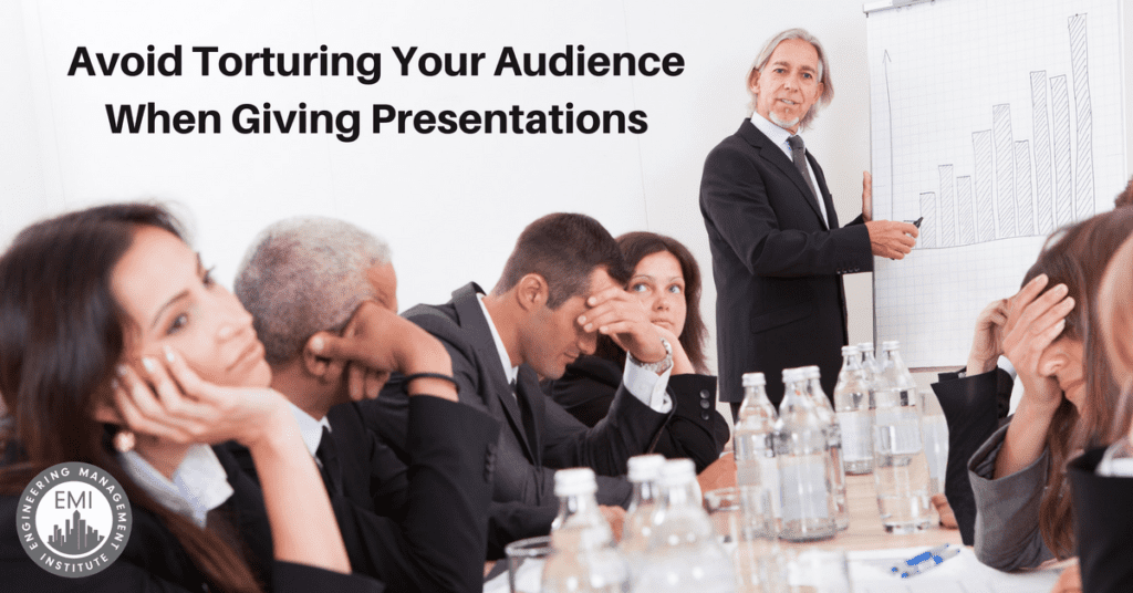 Torturing Your Audience