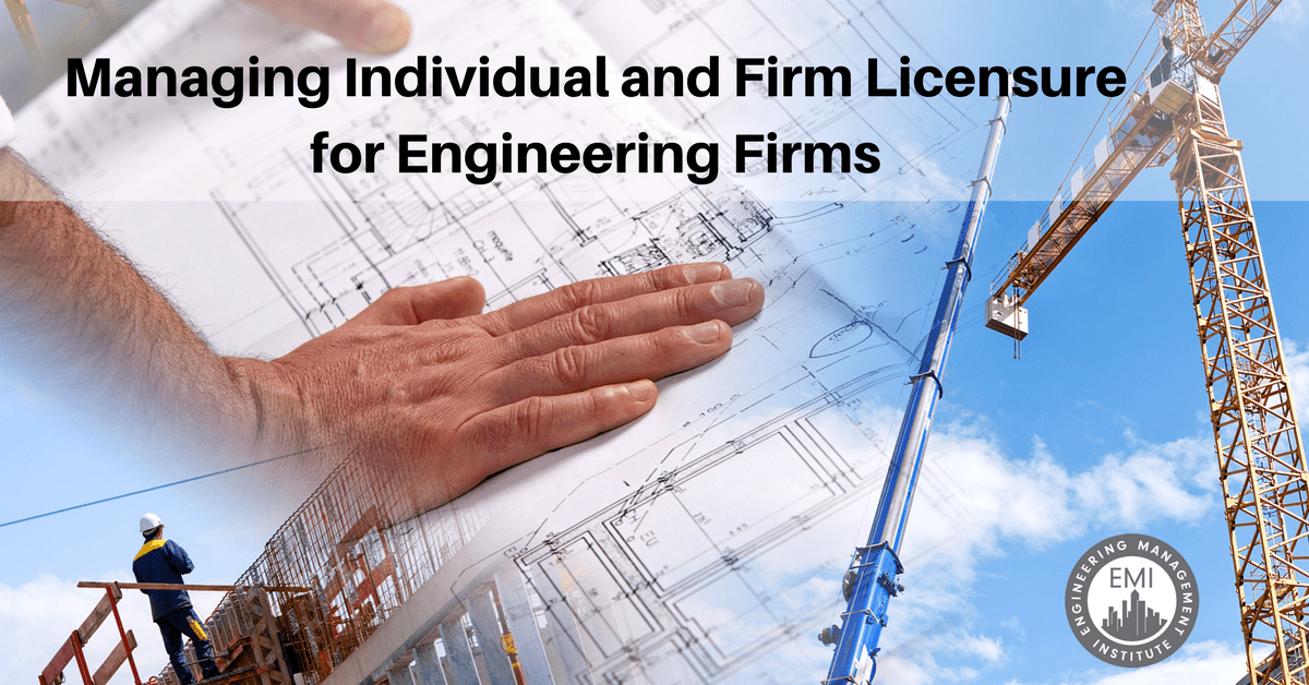 Firm Licensure