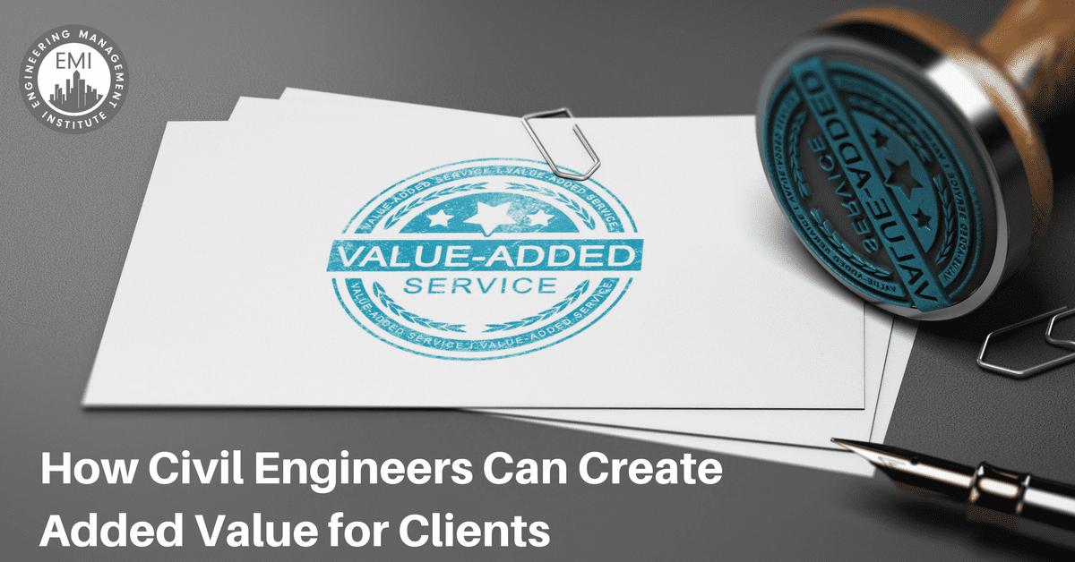Create Added Value