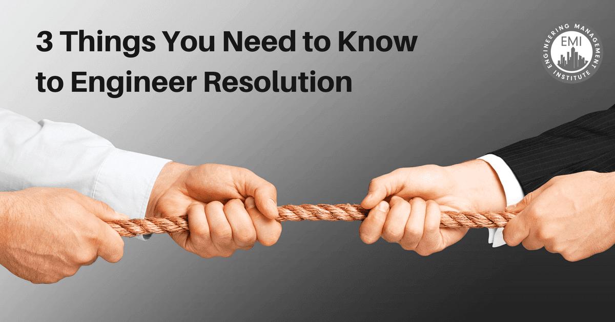 Engineer Resolution