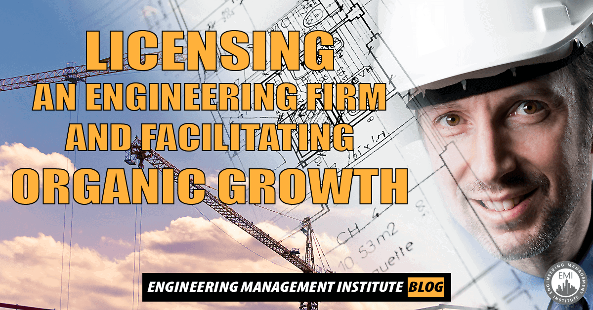 licensing an engineering firm