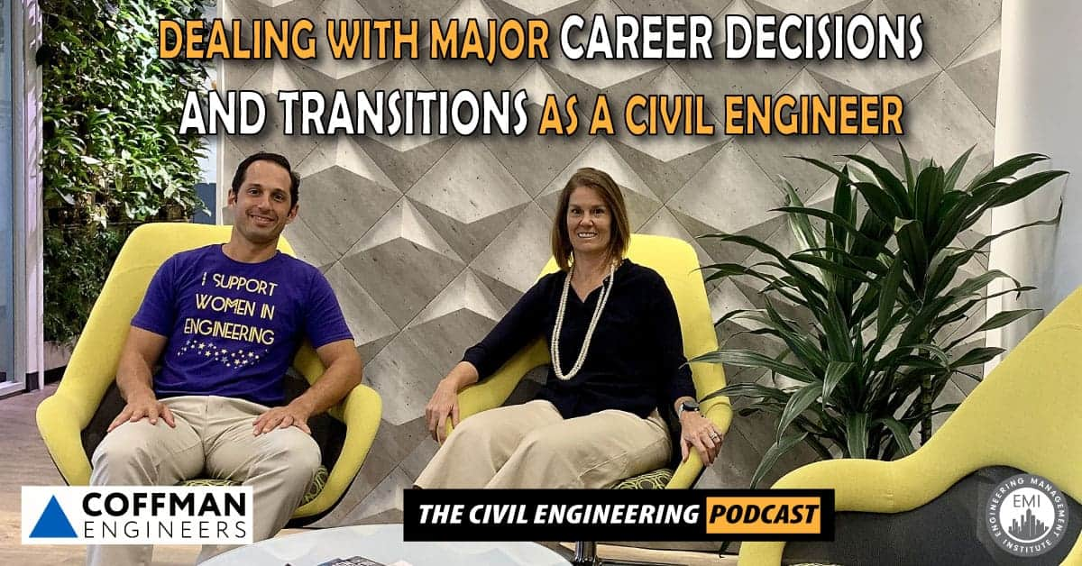 Transitions as a Civil Engineer