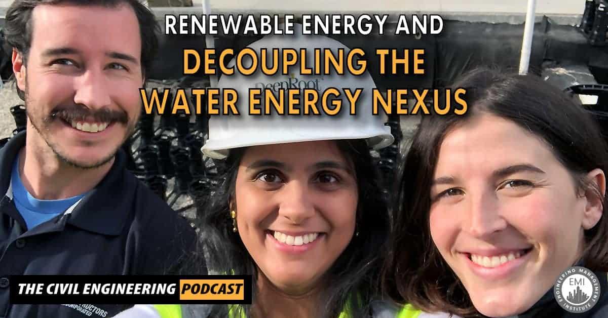 decoupling the water-energy nexus