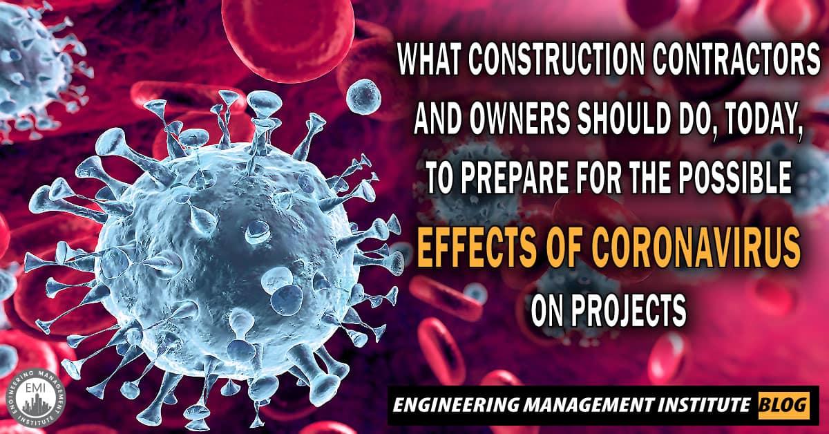 Coronavirus on Projects