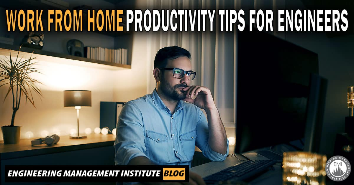 Work From Home Productivity Tips