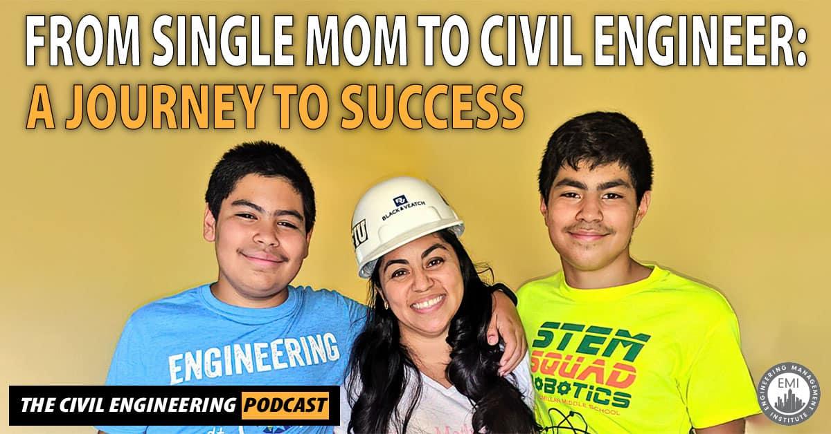 single mom to civil engineer