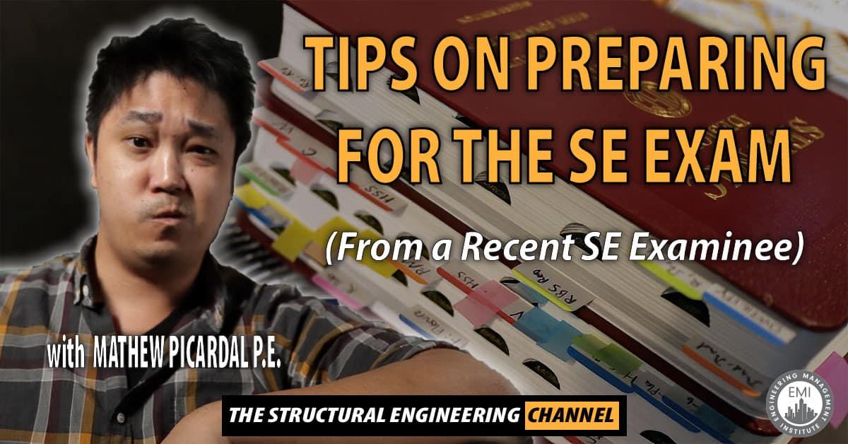 Preparing for the SE Exam