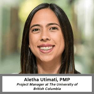 TSEC - Aletha Utimati, PMP