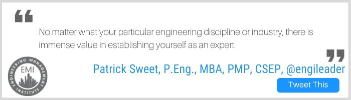 Yourself as an Expert