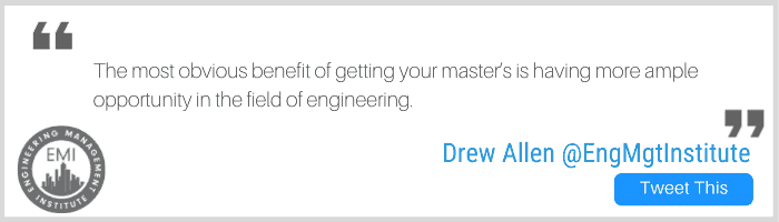 Master's in Engineering