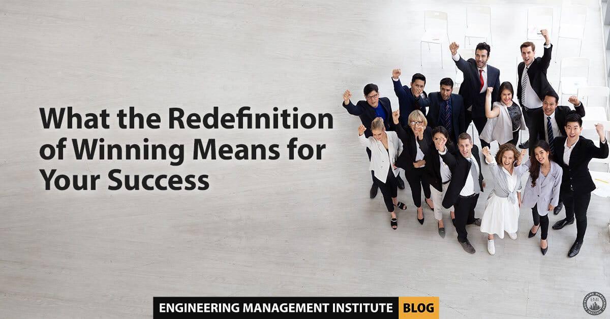 Redefinition of Winning